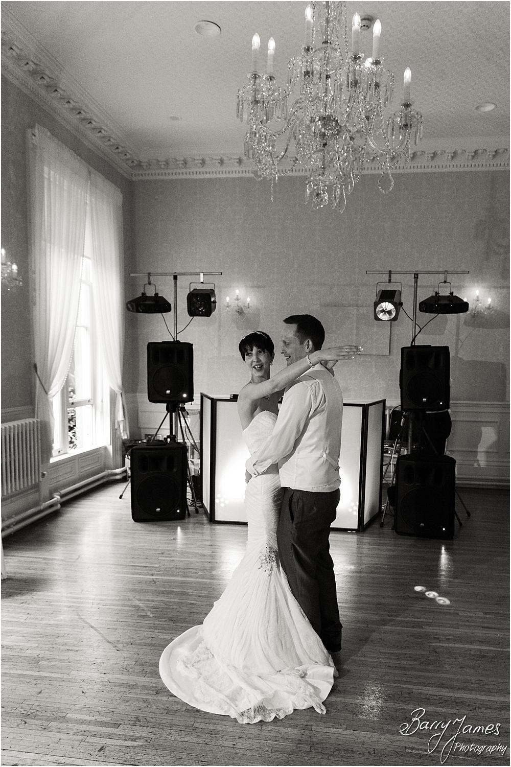 Capturing the beautiful first dance at Rodbaston Hall in Penkridge by Walsall Wedding Photographer Barry James