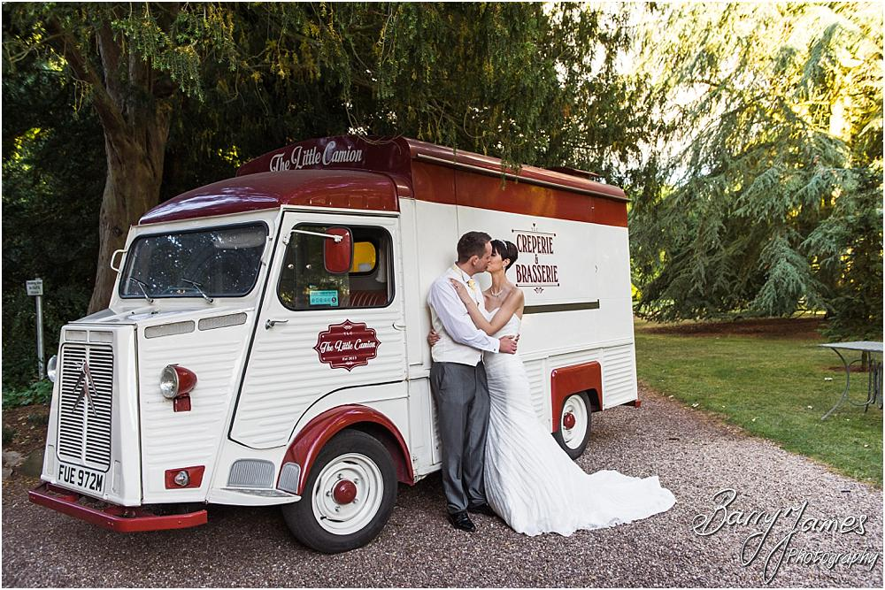 Creperie van at Rodbaston Hall in Penkridge by Walsall Wedding Photographer Barry James