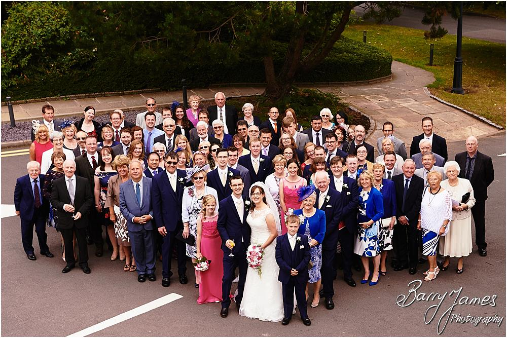 Family groups at The Fairlawns in Walsall by Walsall Wedding Photographer Barry James
