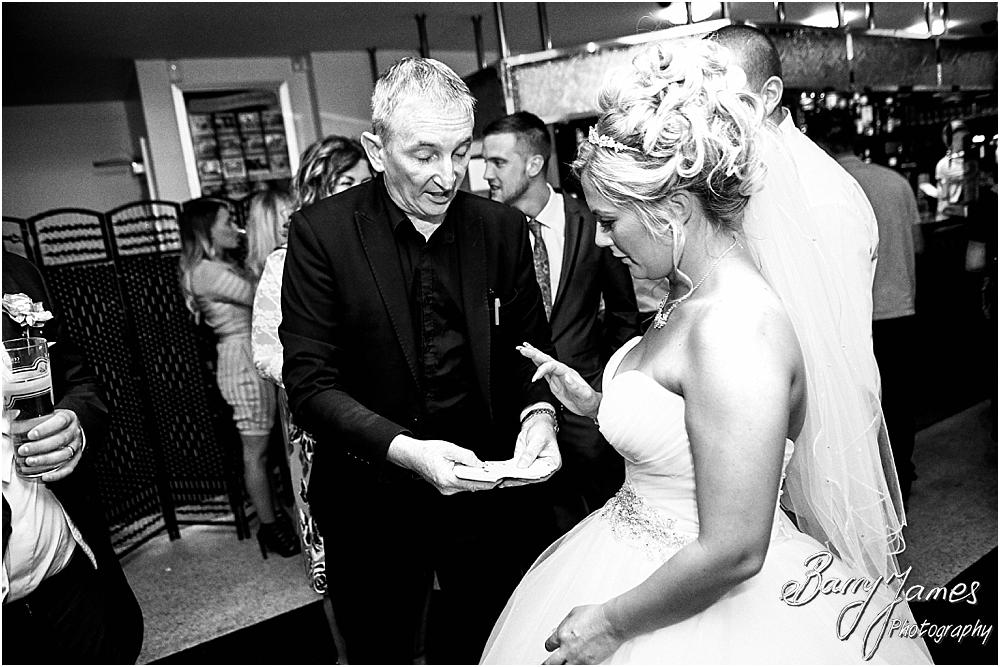 Close up magic from Owen Strickland at Calderfields in Walsall by Calderfields Wedding Photographer Barry James