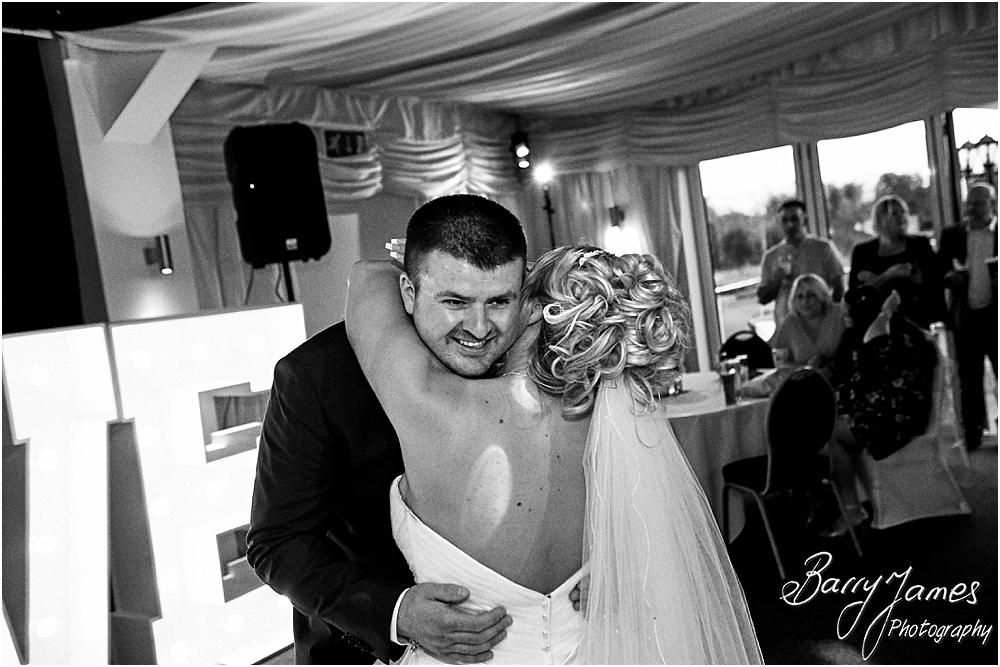 Creative photographs of the fabulous first dance at Calderfields in Walsall by Calderfields Wedding Photographer Barry James