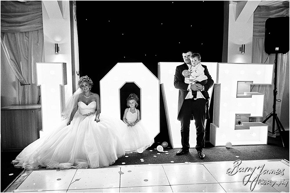 Creative conclusion to the wedding story at Calderfields in Walsall by Calderfields Wedding Photographer Barry James