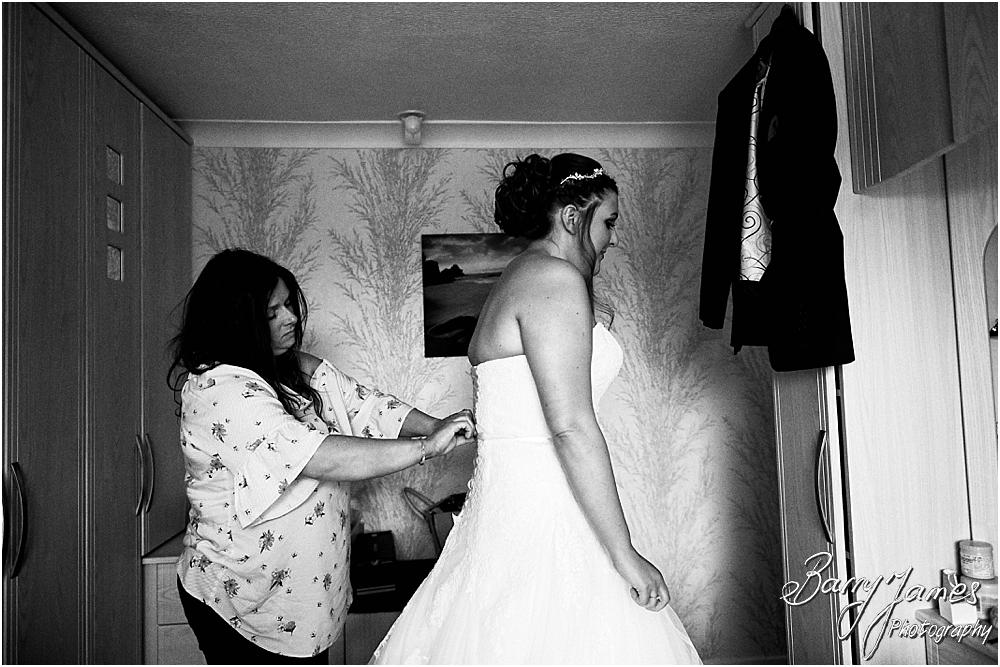 Creative natural photos of bridal preparations at Chateau Impney at Droitwich by Wedding Photographer Barry James