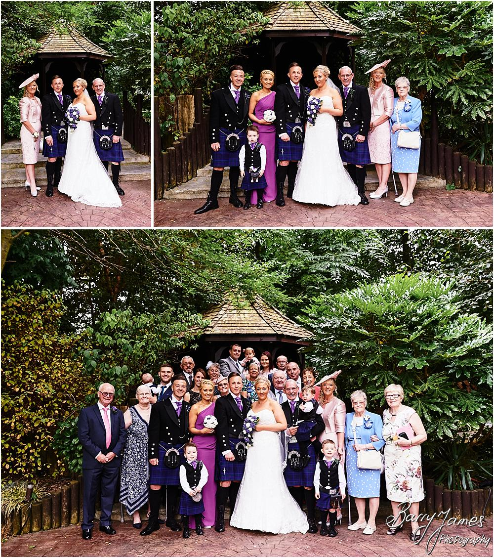 Gorgeous wedding photographs at Fairlawns in Aldridge, Walsall by Walsall Wedding Photographer Barry James