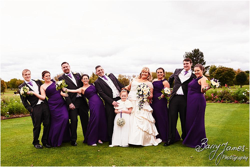 Relaxed family photographs during the wedding reception at Calderfields in Walsall by Walsall Wedding Photographer Barry James