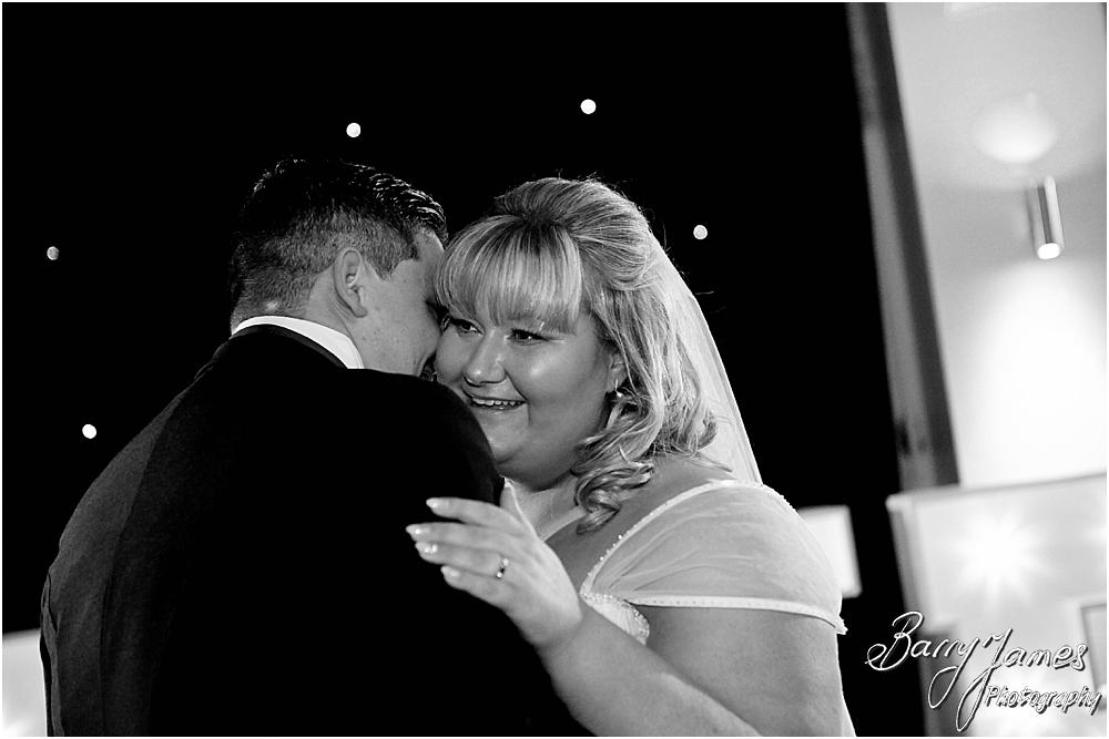 First Dance Fun at Calderfields in Walsall by Walsall Wedding Photographer Barry James