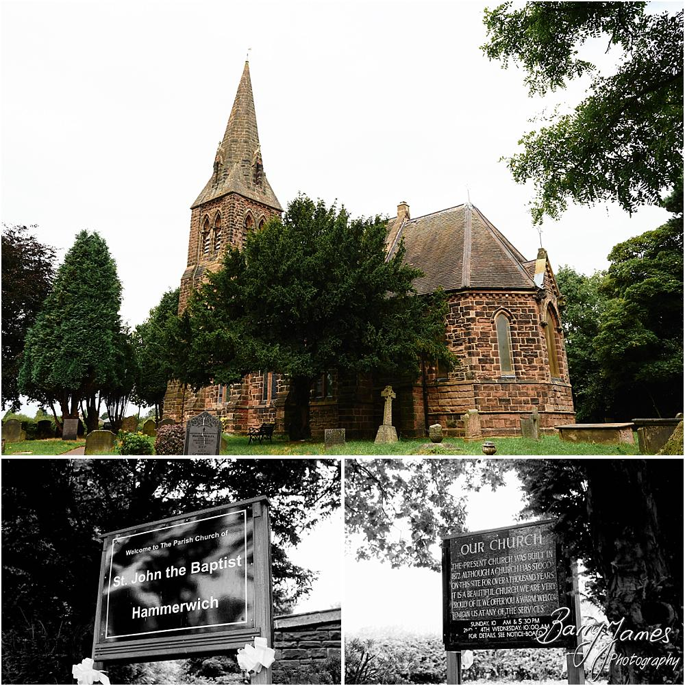 Gorgeous wedding photographs at St Johns Church in Hammerwich by Burntwood Wedding Photographer Barry James