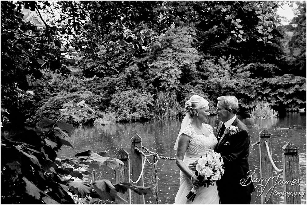 Creative beautiful wedding photographs around the stunning grounds at The Moat House in Acton Trussell by Hammerwich Wedding Photographer Barry James