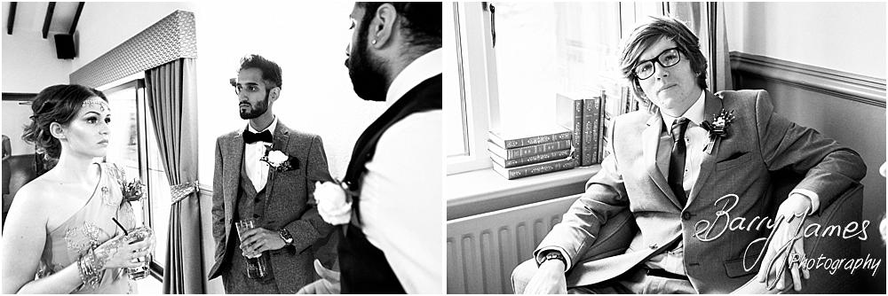 Creative candid photographs that capture the true feeling of the wedding day at Oak Farm Hotel in Cannock by Cannock Wedding Photographer Barry James