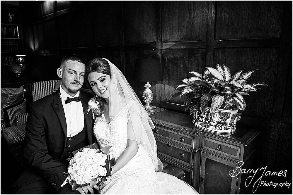 Gorgeous wedding photographs in St James Church + The Moat House in Acton Trussell by Stafford Wedding Photographers Barry James