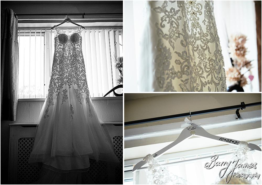 Capturing the wedding morning details for the bride ahead of the wedding at St James Church + The Moat House in Acton Trussell by Stafford Wedding Photographers Barry James