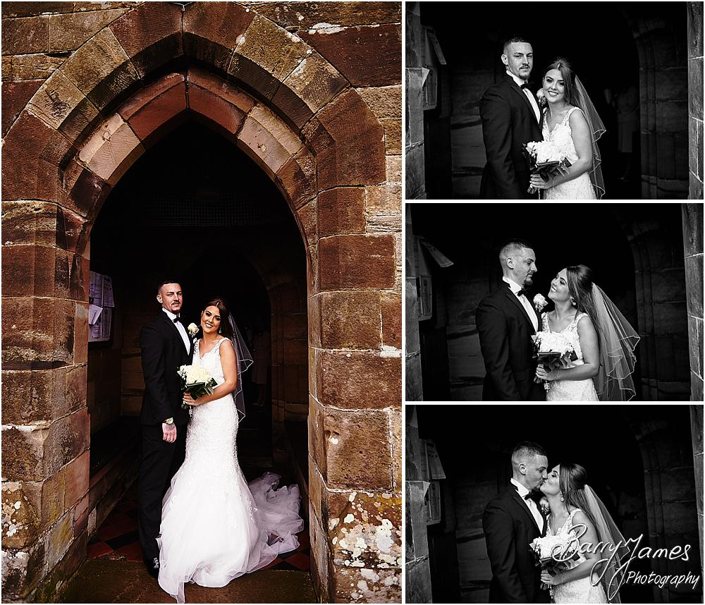 Gorgeous and natural wedding photos in the grounds of The Moat House in Acton Trussell by Stafford Wedding Photographers Barry James