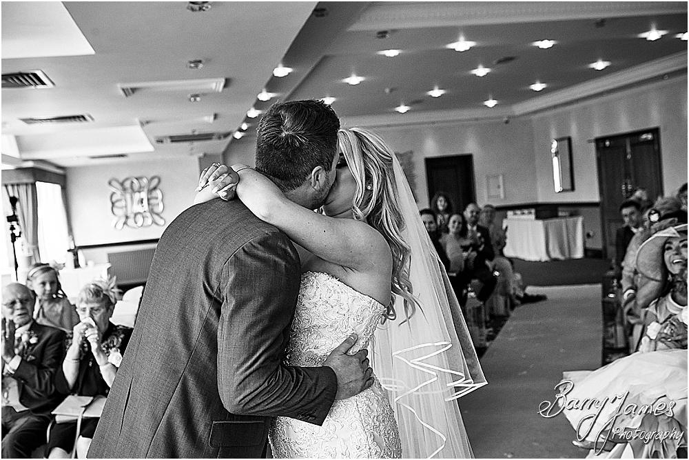 Photos that show the beautiful wedding ceremony at The Moat House in Acton Trussell by Staffordhire Wedding Photographers Barry James