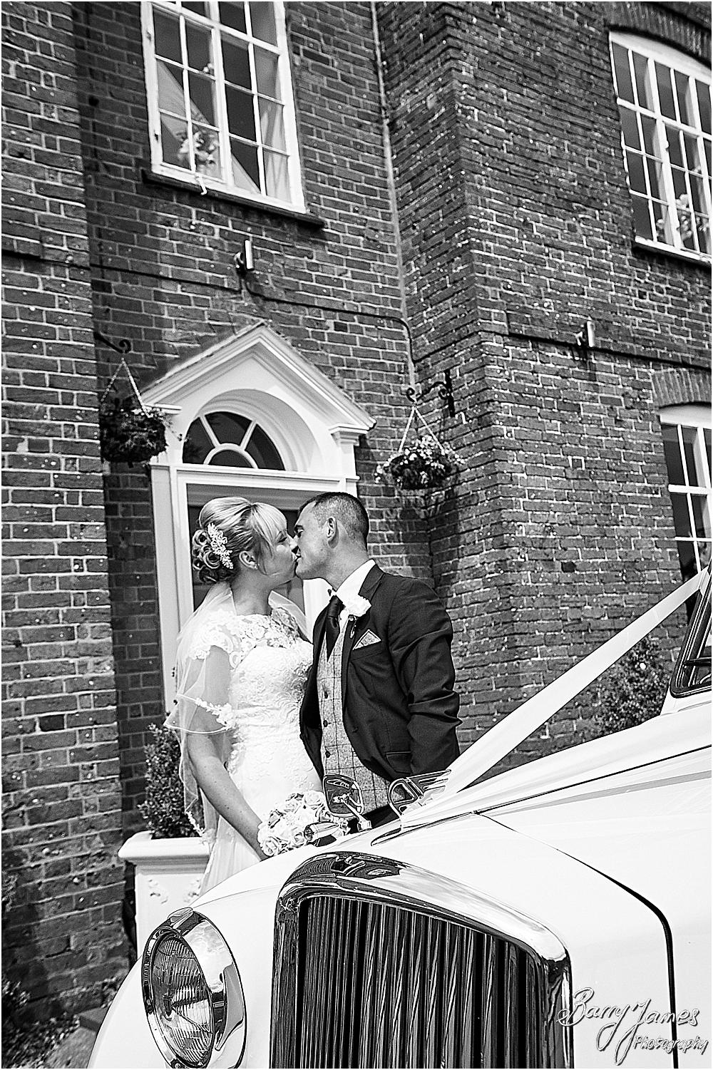 Gorgeous wedding photographs at The Barns in Cannock by Barns Cannock Wedding Photographer Barry James