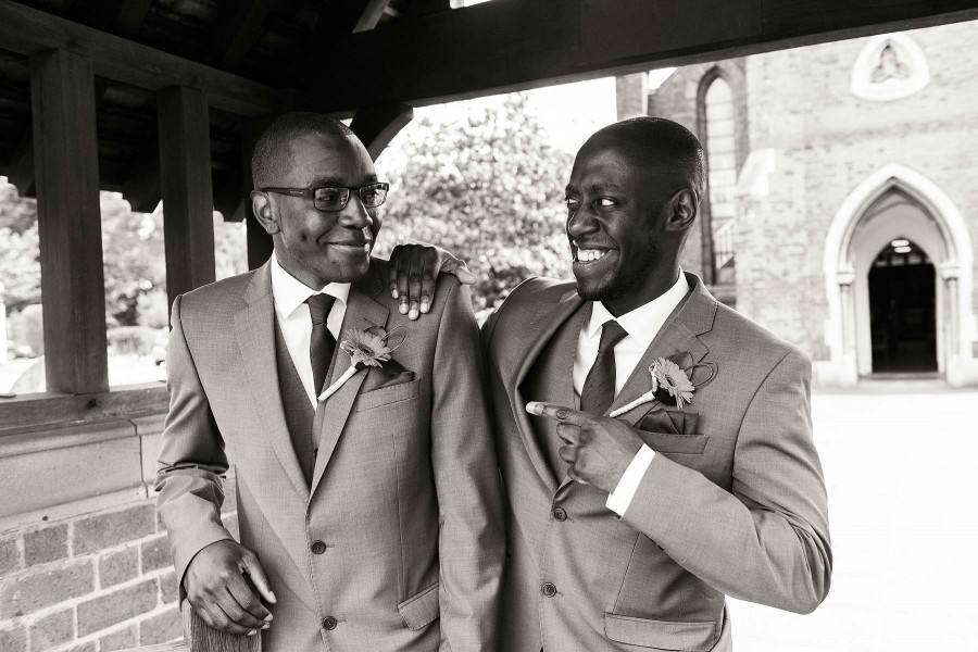 086-fun-with-groomsmen-pelsall-wedding-photographers