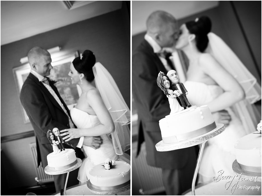 Wedding breakfast at at The Moat House in Acton Trussell by Venue Recommended Wedding Photographer Barry James
