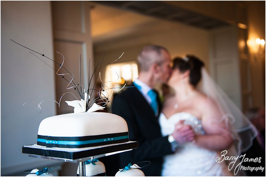 Creative photographs of details and personal touches for wedding breakfast at Weston Hall in Stafford by Stafford Wedding Photographer Barry James