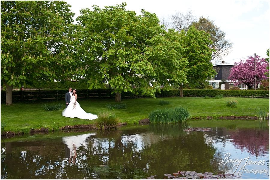 Recommended wedding photographer captures beautiful relaxed wedding photographs at The Moat House in Acton Trussell by Staffordshire Wedding Photographer Barry James