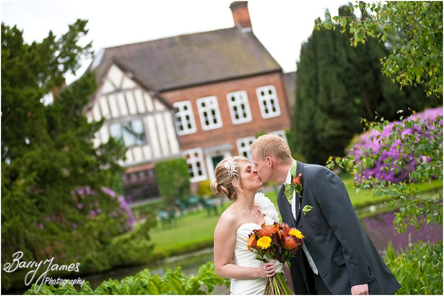 Relaxed contemporary wedding photography by highly recommended wedding photographer at The Moat House in Acton Trussell by Stafford Wedding Photographer Barry James