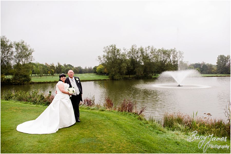 Timeless beautiful wedding photography at Calderfields Golf and Country Club in Walsall by Walsall Wedding Photographer Barry James