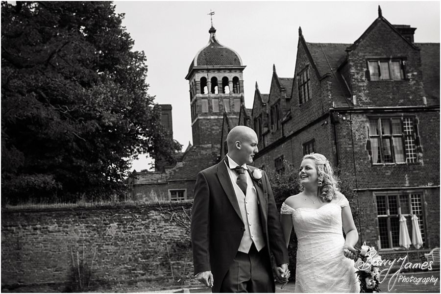Creative wedding photography at Castle Bromwich Hall Hotel in Birmingham by Experienced Professional Wedding Photographer Barry James