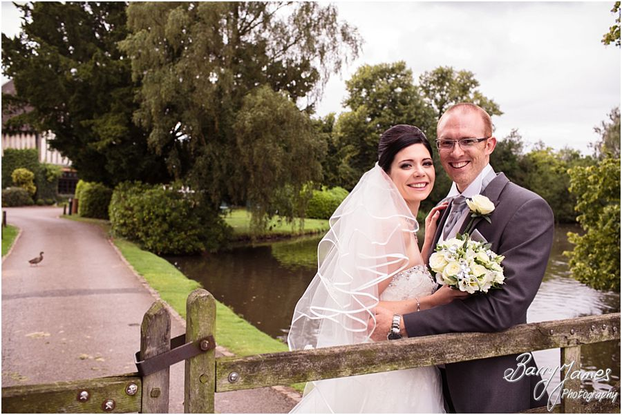 Creative contemporary wedding story combining portraits and candid moments at The Moat House in Acton Trussell by Stafford Professional Wedding Photographer Barry James