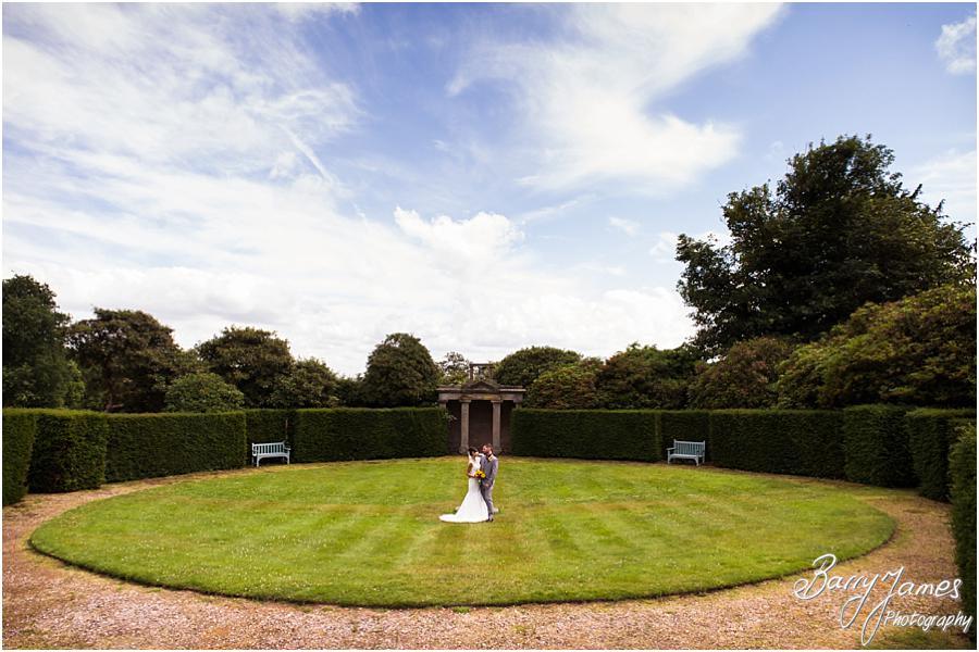Creative wedding photographs at Sandon Hall in Stafford by Stafford Wedding Photographer Barry James