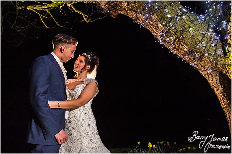 Staffordshire Wedding Photography Night Portraits at The Moat House