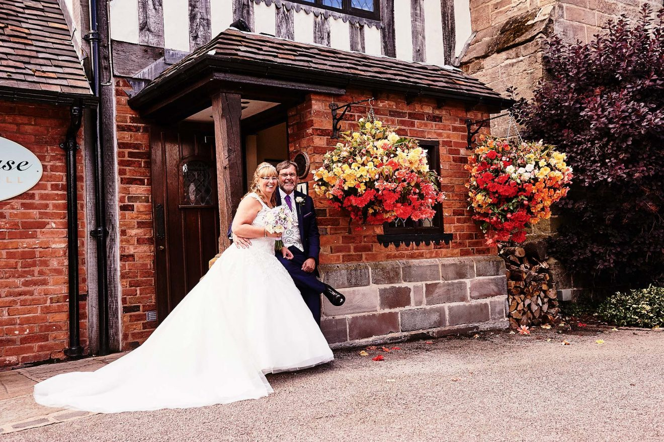 Summer Wedding Photographs at The Moat House